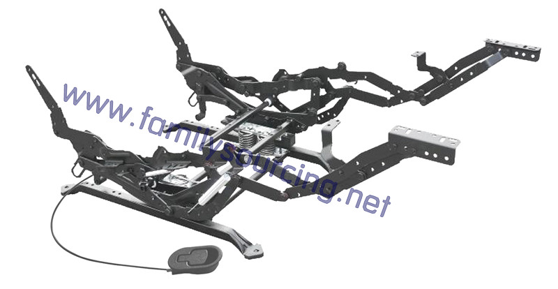 Rocker recliner mechanism FM-R003