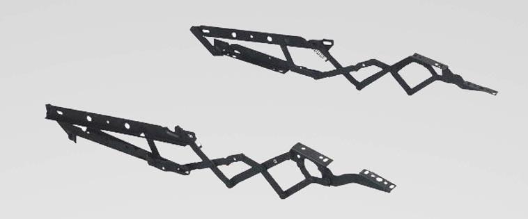 Simple recliner mechanism FM-R013